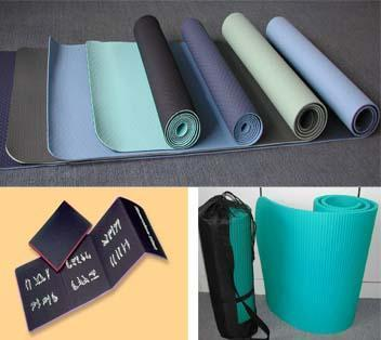 Yoga/fitness/sports mat
