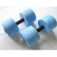 Bar Float, Water Dumbbells